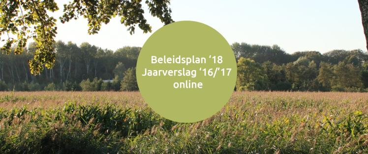 beleidsplan en jaarsverslag online